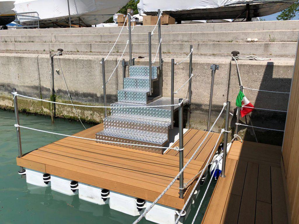 Piattaforma galleggiante pontili galleggianti